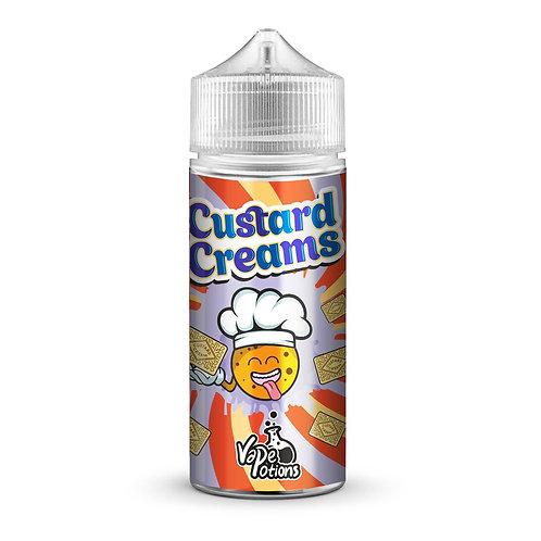 Custard creams (Biscuits) by Vape Potions E Liquid 120ml Shortfill
