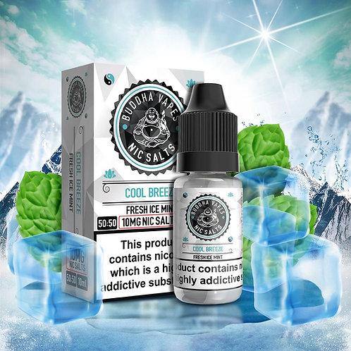 Cool Breeze Nic Salt by Buddha Vapes E Liquid