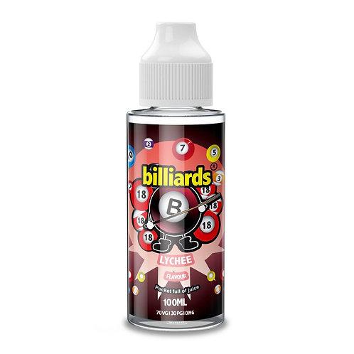 Lychee by Billiards E Liquid 120ml Shortfill