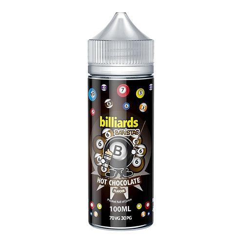Barristas Hot Chocolate by billiards E Liquid 120ml Shortfill