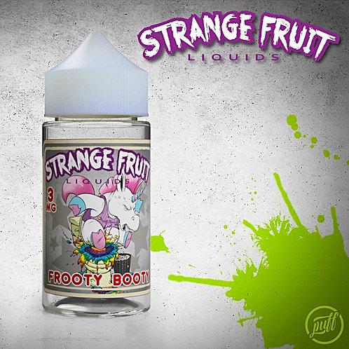 Frooty Booty Strange Fruit Liquids by Puff Labs E Liquid 100ml Shortfill