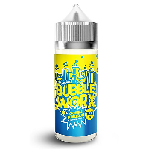 Original Bubblegum by Bubble Worx E Liquid 120ml Shortfill