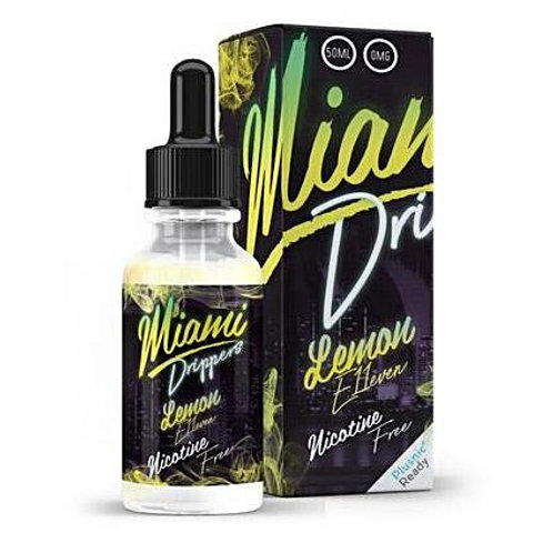 Lemon E11even Miami Drip Club by Cheap Thrills Juice Co E Liquid 60ml Shortfill