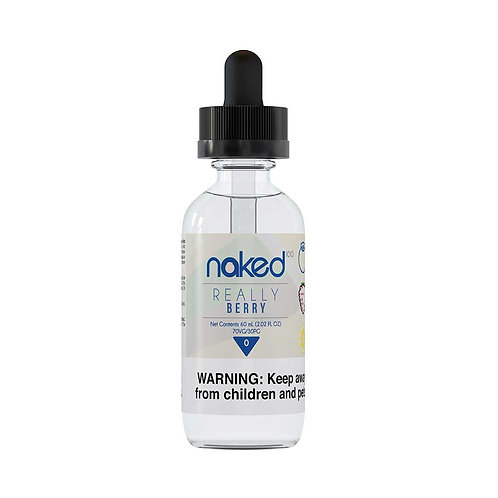 Really Berry by Naked 100 E Liquid 60ml Shortfill