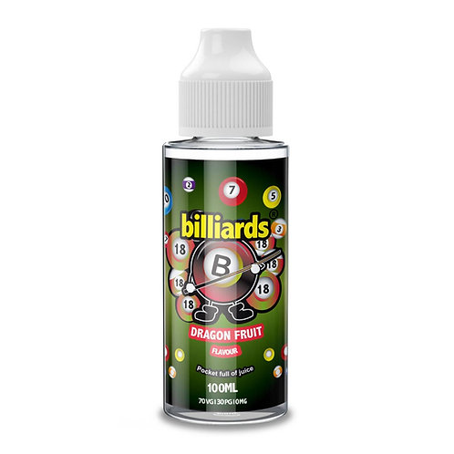 Dragonfruit by Billiards E Liquid 120ml Shortfill