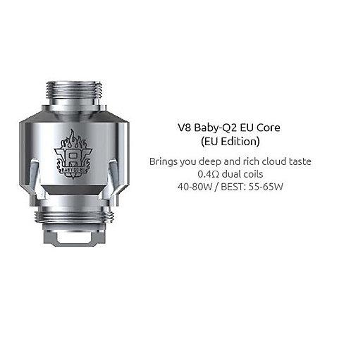 Smok V8 Baby-Q2 EU Core 0.4 ohm Coil 3 Pack
