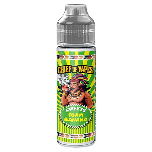 Foam Banana (Chief of Sweets) by Chief Of Vapes E Liquid 60ml Shortfill