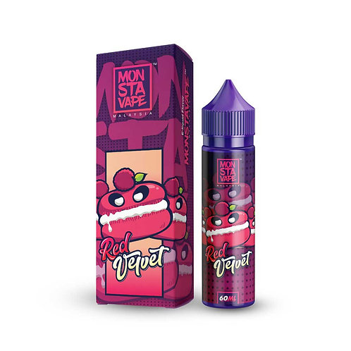 Red Velvet by Monsta Vape E Liquid 60ml Shortfill