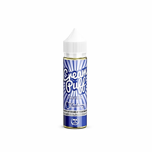 Blueberry by Cream Puff Factory E Liquid 60ml Shortfill