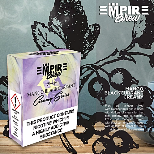 Mango Blackcurrant Creamy Series by Empire Brew E Liquid