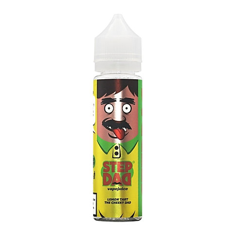 Lemon Tart (The cheeky dad) by Step Dad E Liquid 60ml Shortfill