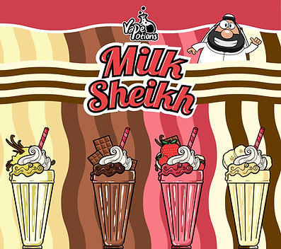 Milkshake E Liquids by Vape Potions
