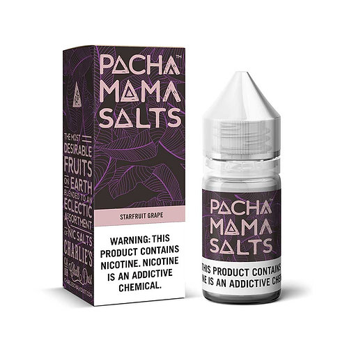 Starfruit Grape Pacha Mama Nic Salt by Charlie's Chalk Dust E Liquid