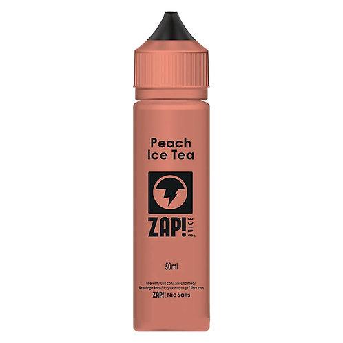 Peach Ice Tea by Zap Juice E Liquid 60ml Shortfill