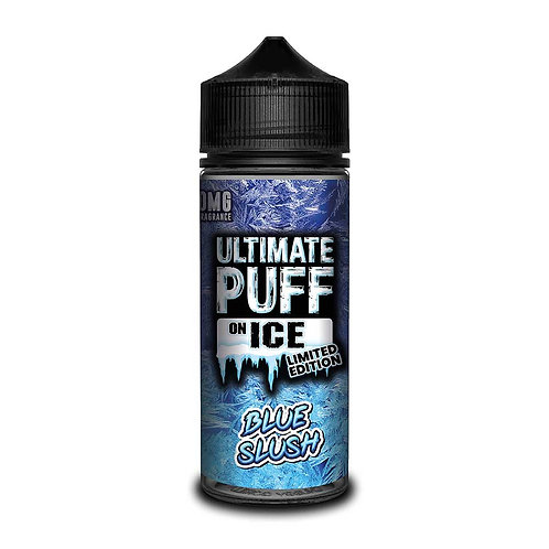 Blue Slush On Ice Limited Edition by Ultimate Puff E Liquid 120ml Shortfill