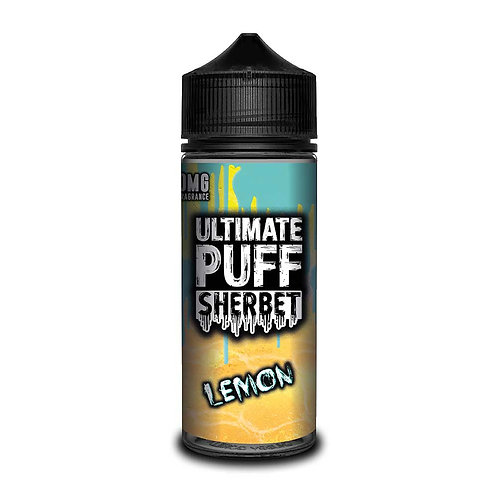 Lemon Sherbet by Ultimate Puff E Liquid 120ml Shortfill