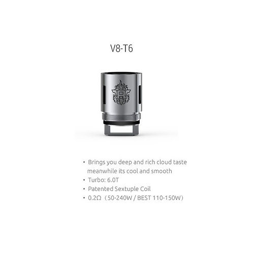 Smok V8-T6 0.2 ohm Coil 3 Pack