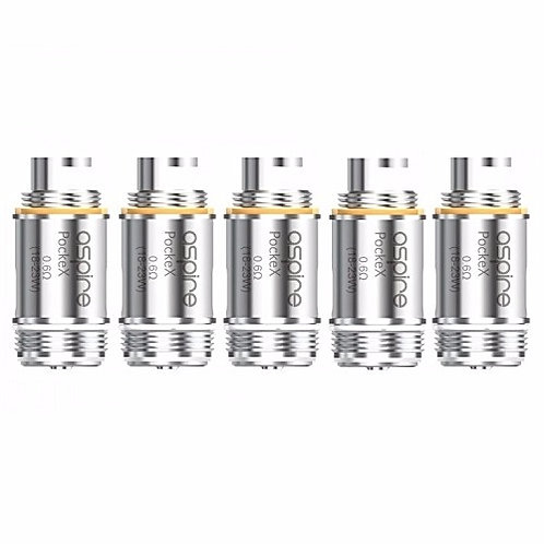 Aspire PockeX Replacement Coil Head (5 Pack)