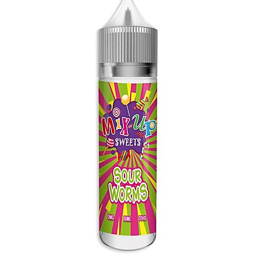 Sour Worms By Mix-up E Liquid 60ml Shortfill