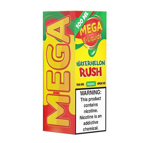 Watermelon Rush by Mega E Liquid 120ml Shortfill