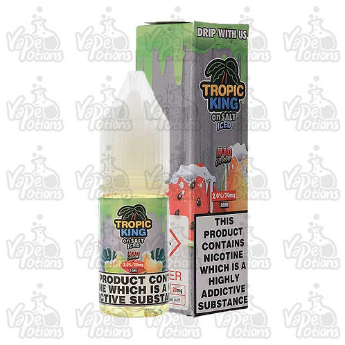 Tropic King Mad Melon Iced Nic Salt by Candy King E Liquid