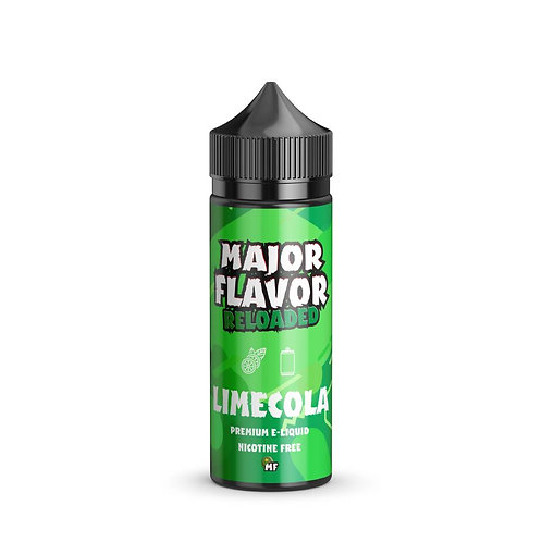 Limecola by Major Flavor E Liquid 120ml Shortfill