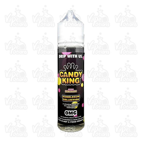 Pink Lemonade by Candy King E Liquid 60ml Shortfill