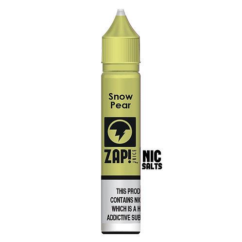 Snow Pear Nic Salt by Zap Juice E Liquid