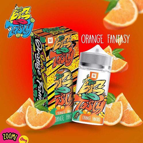 Orange Fantasy by The Big N Tasty E Liquid 180ml Shortfill