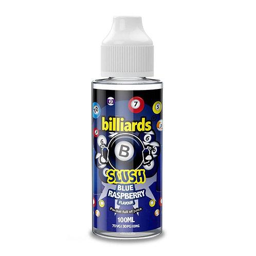 Blue Raspberry Slush by billiards E Liquid 120ml Shortfill