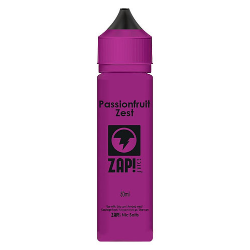 Passionfruit Zest by Zap Juice E Liquid 60ml Shortfill