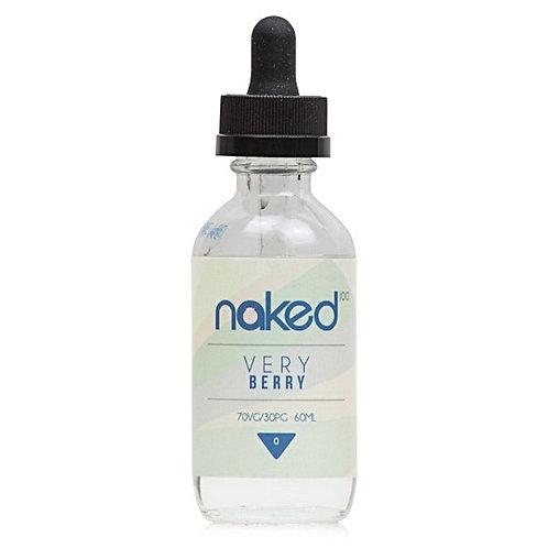 Very Berry by Naked 100 E Liquid 60ml Shortfill