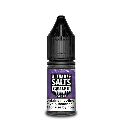 Chilled Grape Nic Salt by Ultimate Puff E Liquid