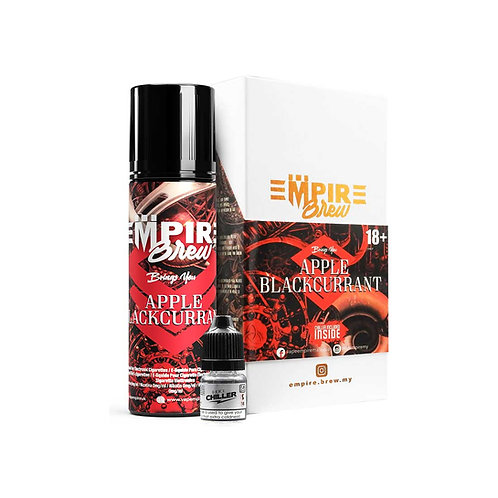 Apple Blackcurrant (No Mint) by Empire Brew E Liquid 60ml Shortfill