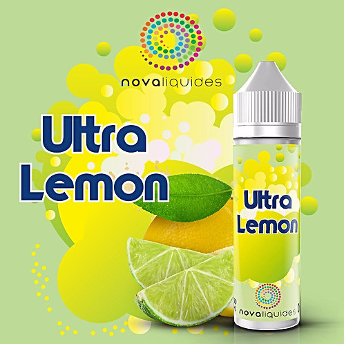 Ultra Lemon by Nova Liquides E Liquid 60ml Shortfill