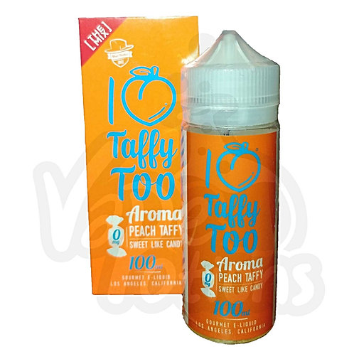 I Love Taffy Too by Mad Hatter Juice E Liquid 120ml Shortfill