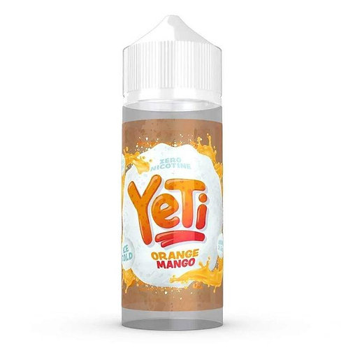 Orange Mango by Yeti E Liquid 120ml Shortfill