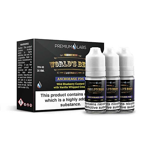 Anchorage Fog by World's Best Custards E Liquid
