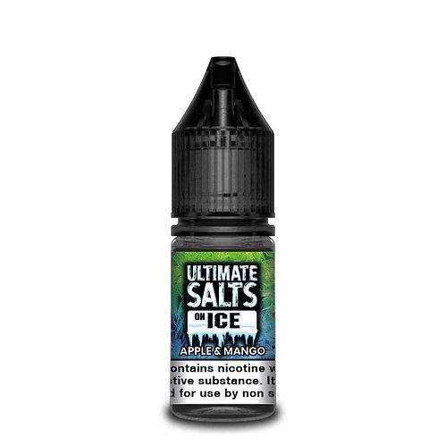 Apple & Mango On Ice Nic Salt by Ultimate Puff E Liquid