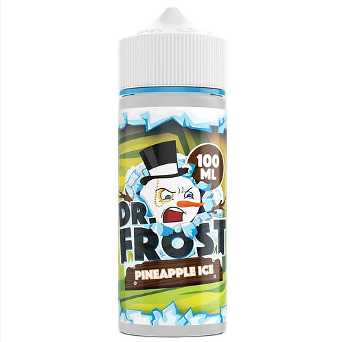 Pineapple Ice by Dr Frost E Liquid 120ml Shortfill