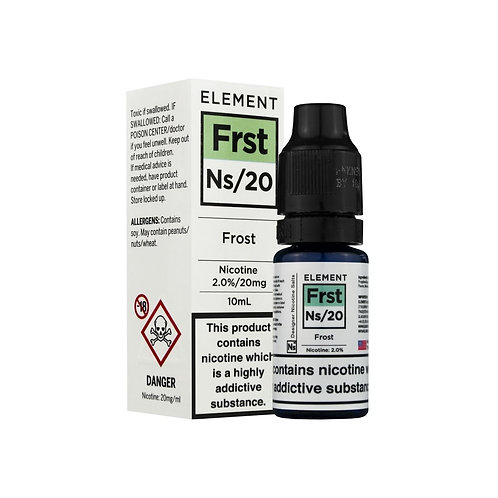 Frost NS20 Designer Nicotine Salt by Element E Liquid
