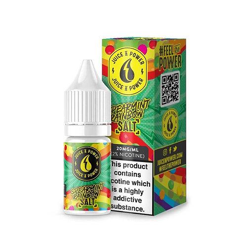 Spearmint Rainbow Nic Salt by Juice N Power E Liquid