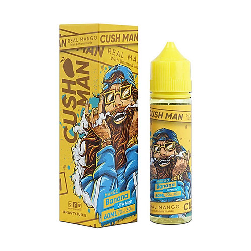 Mango Banana Cush Man Series by Nasty Juice E Liquid 60ml Shortfill