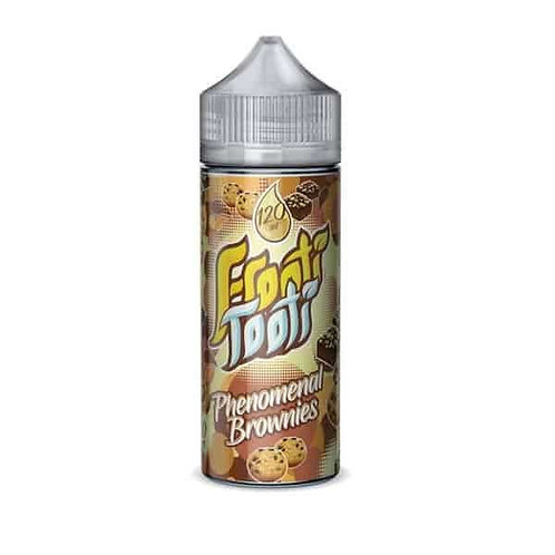 Phenomenal Brownies by Frooti Tooti E Liquid 120ml Shortfill