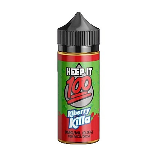 Kiberry Killa by Keep it 100 E Liquid 120ml Shortfill