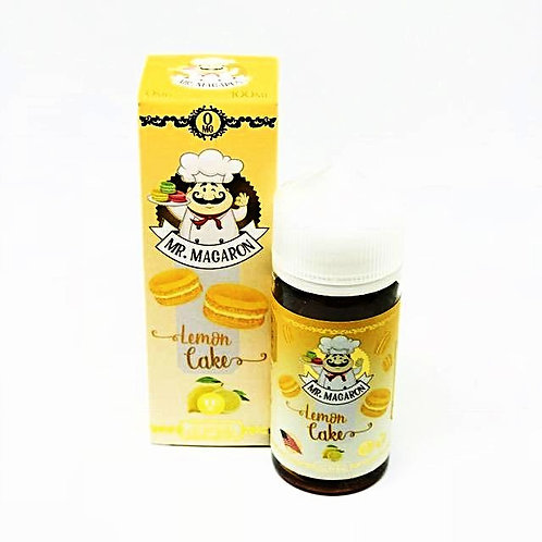 Lemon Cake by Mr Macaron E Liquid 100ml Shortfill