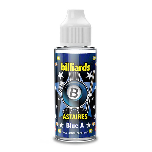 Blue A Astaires by Billiards E Liquid 120ml Shortfill