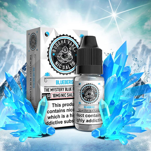 Blueberg Nic Salt by Buddha Vapes E Liquid