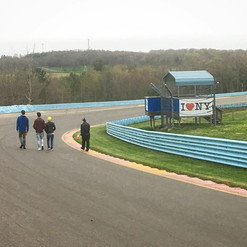 Good Night from a chilly Watkins Glen! B