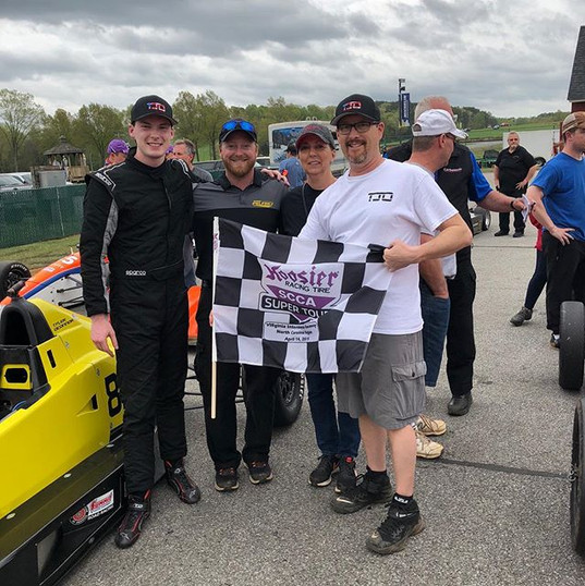Two races and two wins at VIR! Congrats
